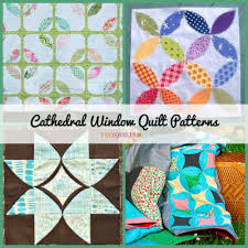 12 Cathedral Window Quilt Patterns | FaveQuilts.com & 12 Cathedral Window Quilt Patterns Adamdwight.com