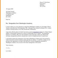 Resignation Letter Format And Sample Fresh Elegant Letter ...