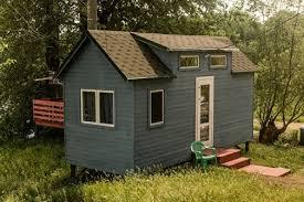 Синий <b>Tiny house</b>