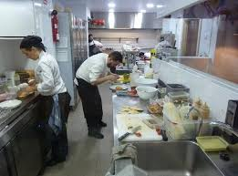 busy kitchen. Back Tapas Bar \u0026 Restaurant: The Busy Kitchen