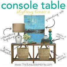 how to decorate a console table. Entryway Console Decor How To Decorate A Table O