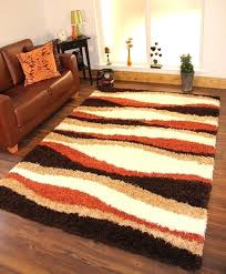 brown rugs for living room gy rug thick soft warm terracotta burnt orange cream brown rugs