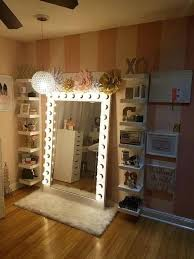 fantastic and incredible vanity mirror with lights for bedroom ideas long makeup mirror lights vanity long