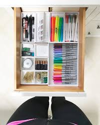 organized home office. Drawers Are Organized Over Here Too And I Detailed All Of That In This Post. Home Office