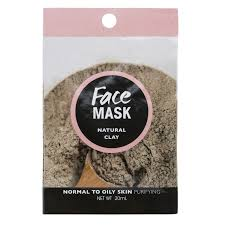 6 kmart face mask in natural clay