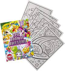 Check out our entire collection of 200+ free bible coloring pages. Amazon Com Crayola Epic Book Of Awesome All In One Coloring Book Set 288 Pages Kids Indoor Activities Gift Toys Games