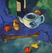 how to paint like cezanne glazes in oil