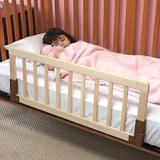 kidco convertible wood crib bed rail