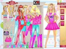 games of dress up barbie