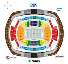 Virtual Seating Chart Giants Stadium Virtual Seating Chart View Giants Stadium