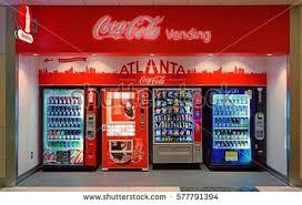 Vending Machines Atlanta Custom Tokyo JAPAN CIRCA October 48 Vending Machines Of Various
