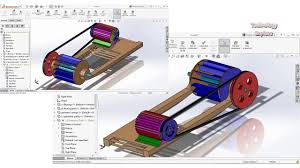 River Turbine Design Run Of River Floating Hydro Turbine Design And Assembly In Solidworks 2 3