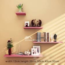 creative wooden wall shelves and ledges