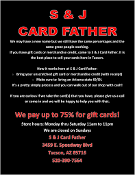 About S J Card Father 3459 E Speedway Blvd Tucson Az 85716 520