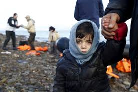 Image result for child refugee on beach