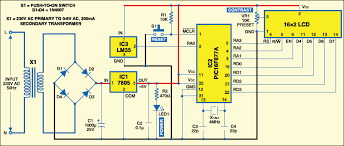 pic16f877a based temperature monitoring system electronics for you Digital Temperature Controller Circuit Diagram fig 2 circuit of pic16f877a based temperature monitoring system digital temperature controller using thermocouple circuit diagram