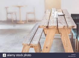 Holz Bank Und Tisch Indoor Ländlich Rustikal Eingerichtet