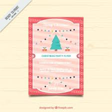 christmas event flyer template christmas event flyer template word brochure with a tree and