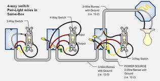 wiring diagram 4 way switch with multiple lights gallery wiring Starter Wiring Diagram wiring diagram 4 way switch with multiple lights collection bell wiring diagrams systems diagram 12