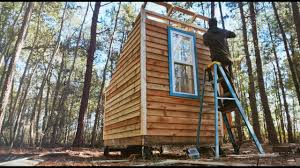 Mobile Log Cabin The Path Eon 800 Two Person Mobile Micro Cabin Youtube