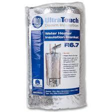 Hot Waterheaters Ultratouch 48 In X 75 In Denim Insulation Hot Water Heater