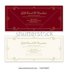 gift certificates format 65 best gift card discount voucher images on pinterest gift