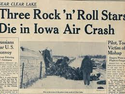 buddy holly plane crash newspaper article. DMREG Crash Frontpagejpg With Buddy Holly Plane Newspaper Article