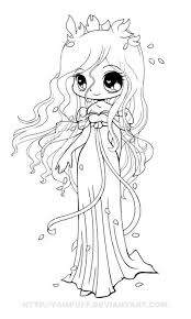 Anime Coloring Pages Chibi Page Awesome Pinterest