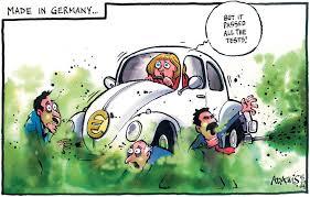 Resultado de imagen para volkswagen emissions cartoons