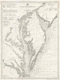 Chesapeake Bay Maps Charts Amazon Com Historic 1893 U S Coast Survey Nautical Chart