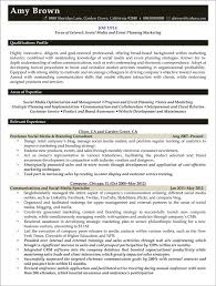 Event Planner Resume Resume Badak Simple Resume Event Planning