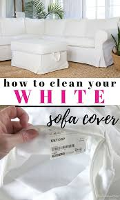 living with a white sofa and how to clean the ikea rp sofa cover