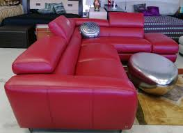 red leather living room furniture. Leather Sectional Sofa Nicoletti Red Living Room Furniture E