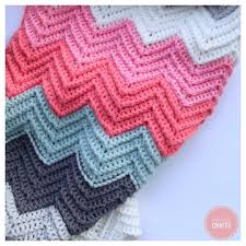 Double Crochet Chevron Blanket Pattern New Ideas