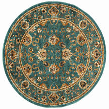 7 ft round area rugs elegant safavieh summit teal blue teal rug 6 7 round smt297l
