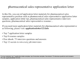 Cover Letter Sales Pharmaceutical Sales Online Writing Lab