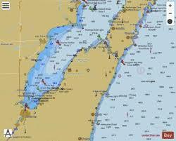 Green Bay Depth Chart Lower Greenbay Algoma And Oconto Marine Chart