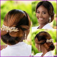 Coiffure Africaine Pour Mariage Civil 302886 Coiffures De