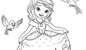 Coloring Free Printable Princess Coloring Pages Princess Free
