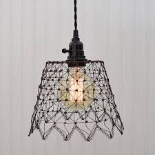 industville brooklyn vintage wire pendant light fabulous pottery barn pendant lights