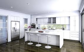 Kitchen Stylish C Large C Kitchen C Modern C White C Kitchens C - Modern kitchens syracuse
