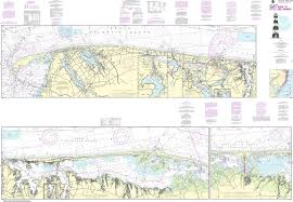 Noaa Intracoastal Waterway Charts Noaa Nautical Chart 12324 Intracoastal Waterway Sandy Hook To Little Egg Harbor