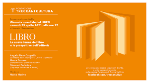 Giornata mondiale del LIBRO - venerdì 23 aprile 2021 | Dipartimento di  Lettere e Culture moderne