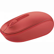 Microsoft Microsoft Wireless Mobile Mouse 1850 Flame Red Westfield