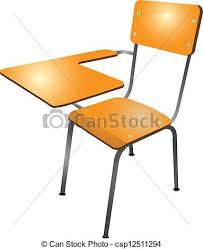 Brilliant School Chair Drawing Desk W To Inspiration Decorating