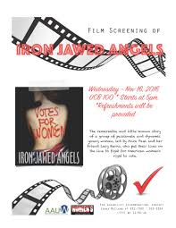 for women s empowerment month screening of the film iron jawed ironjawedangels