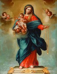 Resultado de imagen de rezando  el rosario