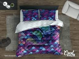 mermaid comforter set decoration queen as well with twin plus little together target mermaid comforter set