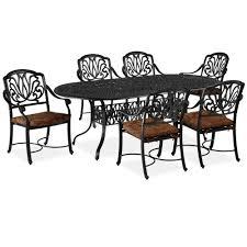 fl blossom 7 piece patio dining set