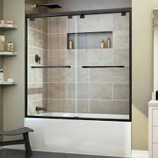 sliding bathtub doors over tub shower door patriot glasirror